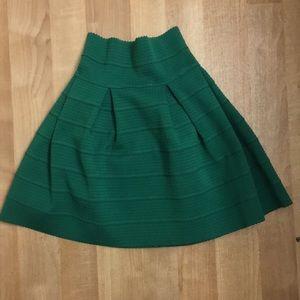 H&M Skirts - Emerald green skirt